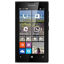 "Buy Microsoft Lumia 435 Smartphone, Windows Mobile, 4"", 3G, SIM Free, 8GB Online at johnlewis.com"