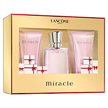 Buy Lancôme Miracle 30ml Eau de Parfum Fragrance Gift Set Online at johnlewis.com