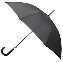 Buy Kin by John Lewis Perforated Handle Umbrella, Black Online at johnlewis.com