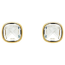 Buy Finesse Plated Swarovski Crystal Earrings Online at johnlewis.com