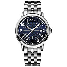 Buy 88 Rue Du Rhone 87WA144211 Men's Double 8 Origin Stainless Steel Bracelet Watch, Silver Online at johnlewis.com