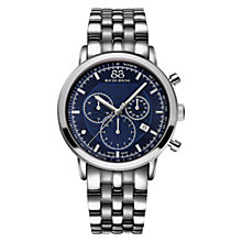 Buy 88 Rue Du Rhone 87WA154205 Men's Double 8 Origin Bracelet Watch, Silver Online at johnlewis.com