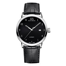 Buy 88 Rue Du Rhone 87WA154212 Men's Automatic Alligator Leather Strap Watch, Black Online at johnlewis.com