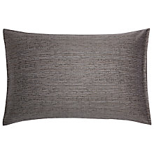Buy Calvin Klein Acacia Textured Boudoir Pillowcase, Quarry Online at johnlewis.com