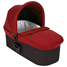 Buy Baby Jogger Deluxe Carrycot, Red Online at johnlewis.com