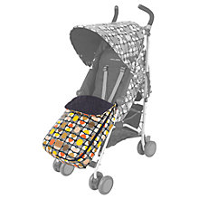Buy Maclaren Orla Kiely Buggy Footmuff Online at johnlewis.com