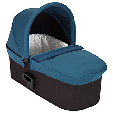 Buy Baby Jogger Deluxe Carrycot, Teal Online at johnlewis.com