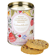 Buy Crabtree & Evelyn White Chocolate & Raspberry Biscuits, 100g Online at johnlewis.com