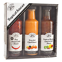 Buy Cottage Delight Tropical Sauce, 3 x 100ml Online at johnlewis.com