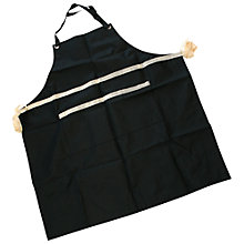Buy John Lewis BBQ Apron, Black Online at johnlewis.com