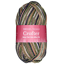 Buy Sirdar Snuggly Crofter Baby Fair Isle Effect DK Yarn, 50g Online at johnlewis.com