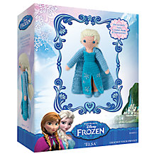Buy Disney Frozen Elsa Crochet Kit Online at johnlewis.com
