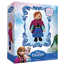 Buy Disney Frozen Crochet Your Own Anna Kit Online at johnlewis.com