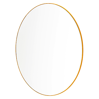 Sabi Bathroom Wall Mirror, Yellow