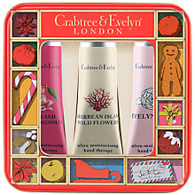 Buy Crabtree & Evelyn Fruits & Flowers Hand Care Tin Online at johnlewis.com