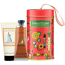 Buy Crabtree & Evelyn Gardeners Hand Care Ornament Tin Online at johnlewis.com