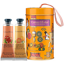 Buy Crabtree & Evelyn Pomegranate & Tarocco Orange Hand Care Ornament Tin Online at johnlewis.com