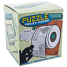 Buy Paladone Puzzle Toilet Roll Online at johnlewis.com