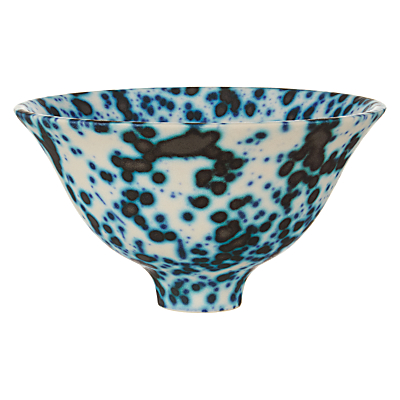 John Lewis Croft Collection Staffordshire Blue Spot Bowl, Small