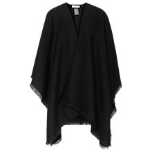 Buy Reiss Tally Cut Fringe Poncho Online at johnlewis.com