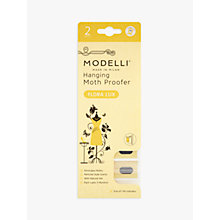 Buy Acana Modelli Flora Lux Hanging Moth Proofer Sachet, Pack of 2 Online at johnlewis.com