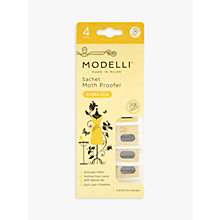 Buy Acana Modelli Flora Lux Hanging Moth Proofer Sachet, Pack of 4 Online at johnlewis.com