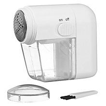 Buy John Lewis Clothes Shaver, White Online at johnlewis.com