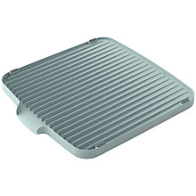 Buy Joseph Joseph Flip Double Sided Dish Drainer, Pastel Blue Online at johnlewis.com