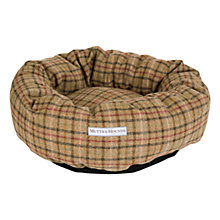 Buy Mutts & Hounds Balmoral Tweed Donut Dog Bed Online at johnlewis.com