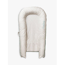 Buy Sleepyhead Grand Baby Pod, Chevron, 8-36 months Online at johnlewis.com