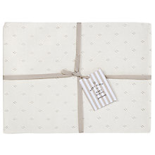 Buy John Lewis Baby Shawl, Off White Online at johnlewis.com