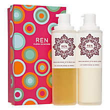 Buy REN Moroccan Rose Body Duo Online at johnlewis.com