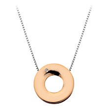 Buy Hot Diamonds Awaken Circle Pendant Necklace Online at johnlewis.com