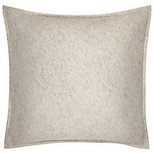 Buy Calvin Klein Basel Cody Square Pillowcase, Silver Online at johnlewis.com