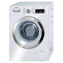 Buy Bosch WAW28660GB Freestanding Washing Machine, 9kg Load,  A+++ Energy Rating, 1400rpm Spin, White Online at johnlewis.com