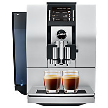 Buy Jura Impressa Z6 Bean to Cup Coffee Machine, Satin Silver Online at johnlewis.com