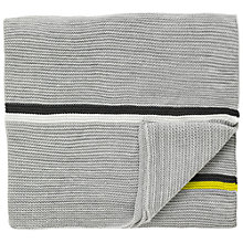 Buy Scion Mr Fox Throw Blanket, Grey Online at johnlewis.com