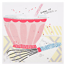 Buy Black Olive Fluffy Sponge Birthday Card Online at johnlewis.com