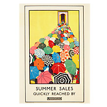 Buy Paper Rose Summer Sales Birthday Card Online at johnlewis.com