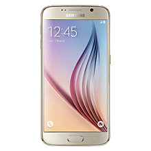 "Buy Samsung Galaxy S6 Smartphone, Android, 5.1"", 4G LTE, SIM Free, 32GB Online at johnlewis.com"
