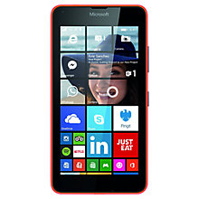 "Buy Microsoft Lumia 640 Smartphone, Windows Mobile, 5"", 4G LTE, SIM Free, 8GB Online at johnlewis.com"