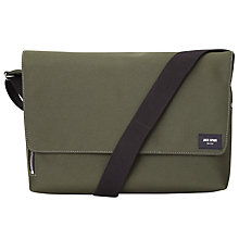 Buy Jack Spade Commuter Nylon Messenger Bag, Green Online at johnlewis.com