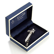 Buy Original Penguin Logo Tie Clip, Silver Online at johnlewis.com