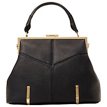 Buy Dune Donna Casual Soft Framed Grab Bag, Navy Online at johnlewis.com