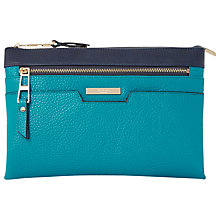 Buy Dune Demily Double Pouch Crossbody Bag, Blue Online at johnlewis.com
