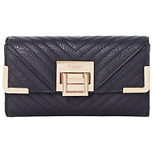 Buy Dune Kourtney Quilted Detail Flap Over Purse Online at johnlewis.com