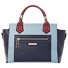 Buy Dune Colour Block Tote Bag, Navy Online at johnlewis.com