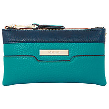 Buy Dune Kleo Colour Block Multi Compartment Purse, Teal Online at johnlewis.com
