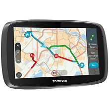 Buy TomTom Go 610 Sat Nav with Lifetime TomTom Traffic & Lifetime World Maps, World Online at johnlewis.com