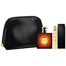 Buy Yves Saint Laurent Opium Eau de Toilette Fragrance Gift Set Online at johnlewis.com